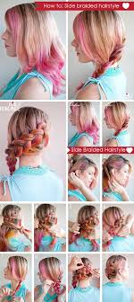 how to braid short hair step by step woow how to make side braided hairstyle 2014 trend hottest