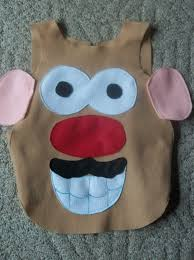 Diy Sew Potato Head Costume Homemade U0026 Potato Head Costume