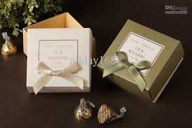 gift boxes with bow cb2018 white green bow style wedding box gift box candy box