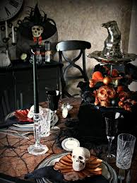 photos hgtv creepy halloween table setting with skulls loversiq