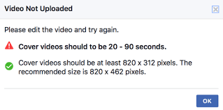 how to set up a creative facebook cover video social media examiner