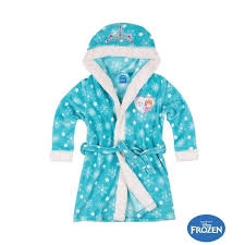 robe de chambre fillette robe de chambre enfant la reine des neiges peignoir polaire fille