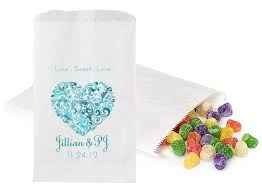 candy bags 4x6 paper candy bags wedding gumdrops photo booth frame place