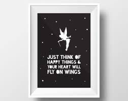 tinkerbell poster etsy