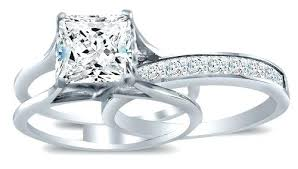bridal sets rings sterling silver cz wedding ring sets sterling silver cubic