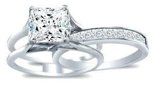 bridal sets rings sterling silver cz wedding ring sets sterling silver cubic