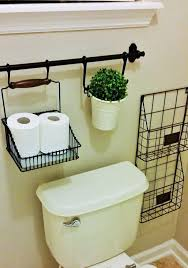 Decorating Ideas For Bathroom Walls Bathroom Wall Mounted Wire Storage Toilet Paper Holders In Black