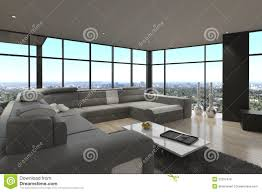 Loft Living Room by Modern Loft Living Room Interior Stock Photo Image 41239620