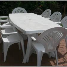 white plastic patio table and chairs chairs home decorating