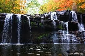 brush creek falls west virginia outdoors landscape