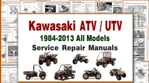 kawasaki atv repair and maintenance manuals u0026 service infomation