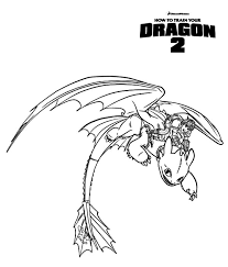 hiccup ride toothless train dragon coloring pages