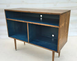 Mid Century Record Cabinet by Mid Century Modern Record Cabinet Tv Table Media Console W