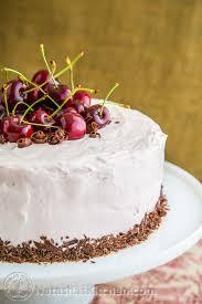 drunken cherry chocolate cake recipe