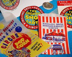 Barnes And Bailey Circus Ringling Bros Etsy