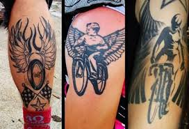 angel bike tattoo design tattoos book 65 000 tattoos designs