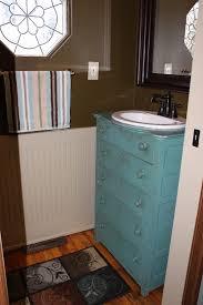 Repurposed Furniture For Bathroom Vanity A Bathroom Vanity From Furniture