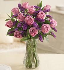 one dozen roses one dozen purple roses vase in lakeland fl mildred s florist