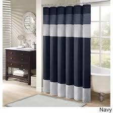 home essence salem polyester shower curtain walmart com