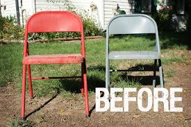 chair covers for folding chairs vol 25 before and after painted metal folding chairs