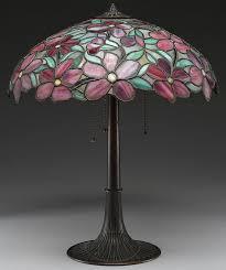 suess ornamental glass company peony table l