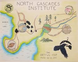 Dia Map Workshop Review The Artful Map A One Page Nature Journal