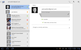 talk android talk provides quality chat on android tablets