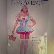 Dorothy Halloween Costume 50 Leg Avenue Dorothy Halloween Costume
