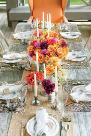 rustic outdoor table setting southern living