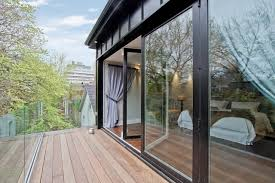 folding glass walls canada modern patio other by solar