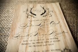 wooden wedding invitations sydney tim s rustic wood wedding invitations