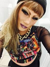 ultra feminine hair for men drag queen pearle gattes spends days as a man but transforms into