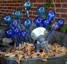Glass Garden Decor 184 Best Garden Glass Images On Pinterest Garden Crafts Garden