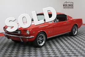 mustang vintage 1965 ford mustang fastback ac auto denver colorado worldwide
