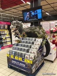 jurassic world jeep blue jurassic world blu ray and other surprises in stores now