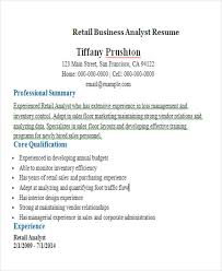 Business Analyst Resume Samples by Business Resume Sample Free U0026 Premium Templates