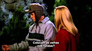 friends phoebe christmas tree legendado youtube