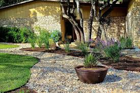 stone landscaping ideas backyard fence ideas