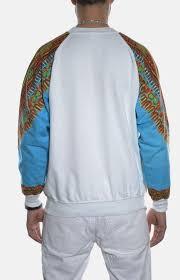 dashiki sweater dashiki sweatshirt white true soldier