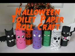 Youtube Halloween Crafts - 20 best halloween decorations using toilet paper rolls images on