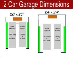 dimensions of a 2 car garage 2 car garage door size garage doors repair
