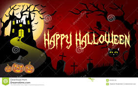 halloween wallpaper stock vector image 60439126