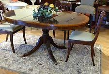 Round To Oval Dining Table Oval Dining Table Ebay