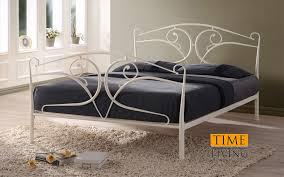 bedstore uk time living seline metal bed bedstore uk
