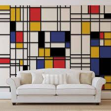 fine art prints wallpaper murals buy online at europosters mondrian modern art special price price from 19 19 wallpaper mural