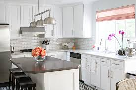 White Corian Kitchen With Corian Countertops Transitional Kitchen