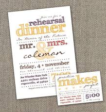 wedding rehearsal invitations fall rehearsal dinner invitations kawaiitheo