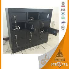 security charging storage box cabinet for cell phone multi units
