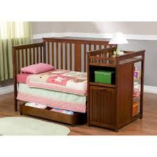 Delta Crib And Changing Table Delta Children Dakota Crib And Changer In Cider