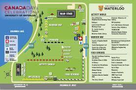 schedule canada day university of waterloo
